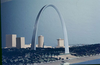 St Louis Gateway Arch and Riverfront